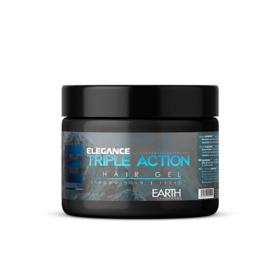 Gel na vlasy trojího účinku ELEGANCE Triple Action Hair Gel 500ml