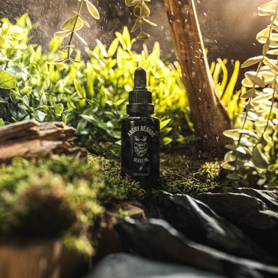 Olej na vousy ANGRY BEARDS Todd Herbalist 30ml