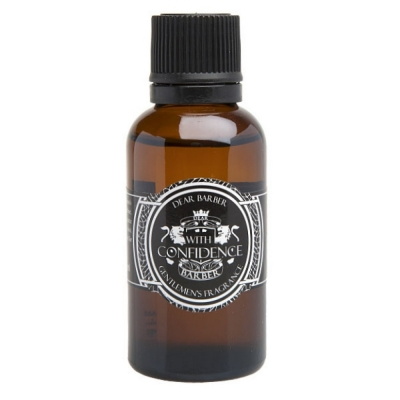 Toaletní voda DEAR BARBER With Confidence 30ml
