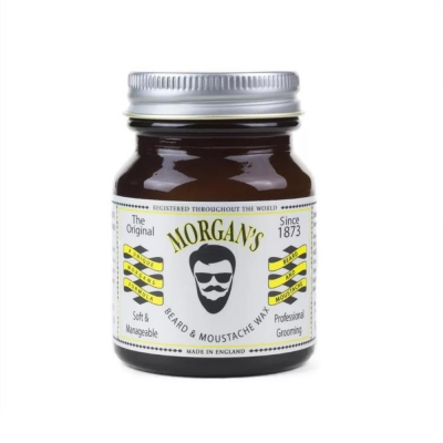 Vosk na knír a plnovous MORGANS Beard and moustache wax 50g