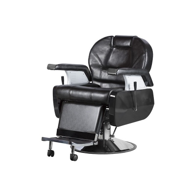 Barber křeslo ITALIAN DESIGN Siena Super Luxe Black Knight Armchair